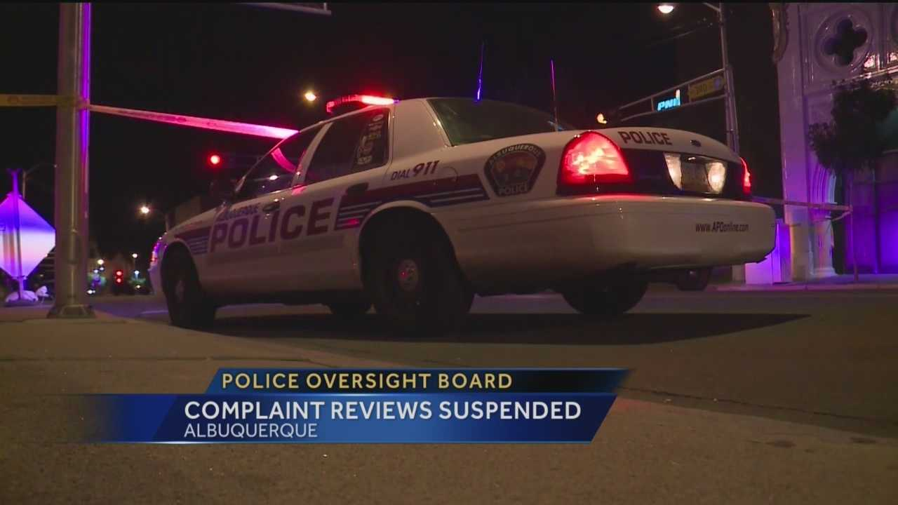 Those who have complaints about an Albuquerque police officer may have to wait awhile for them to be reviewed.
