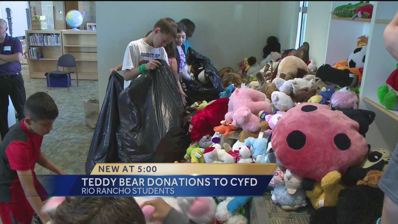 Some children in need of a little extra love received a big surprise Wednesday.