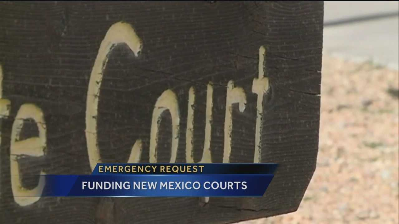 Court officials say they're in a crisis. Reporter Megan Cruz has the story.