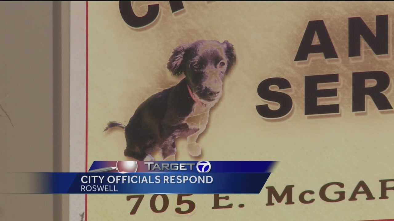 Roswell's animal control shelter has been under fire from animal rescue organizations for months now.