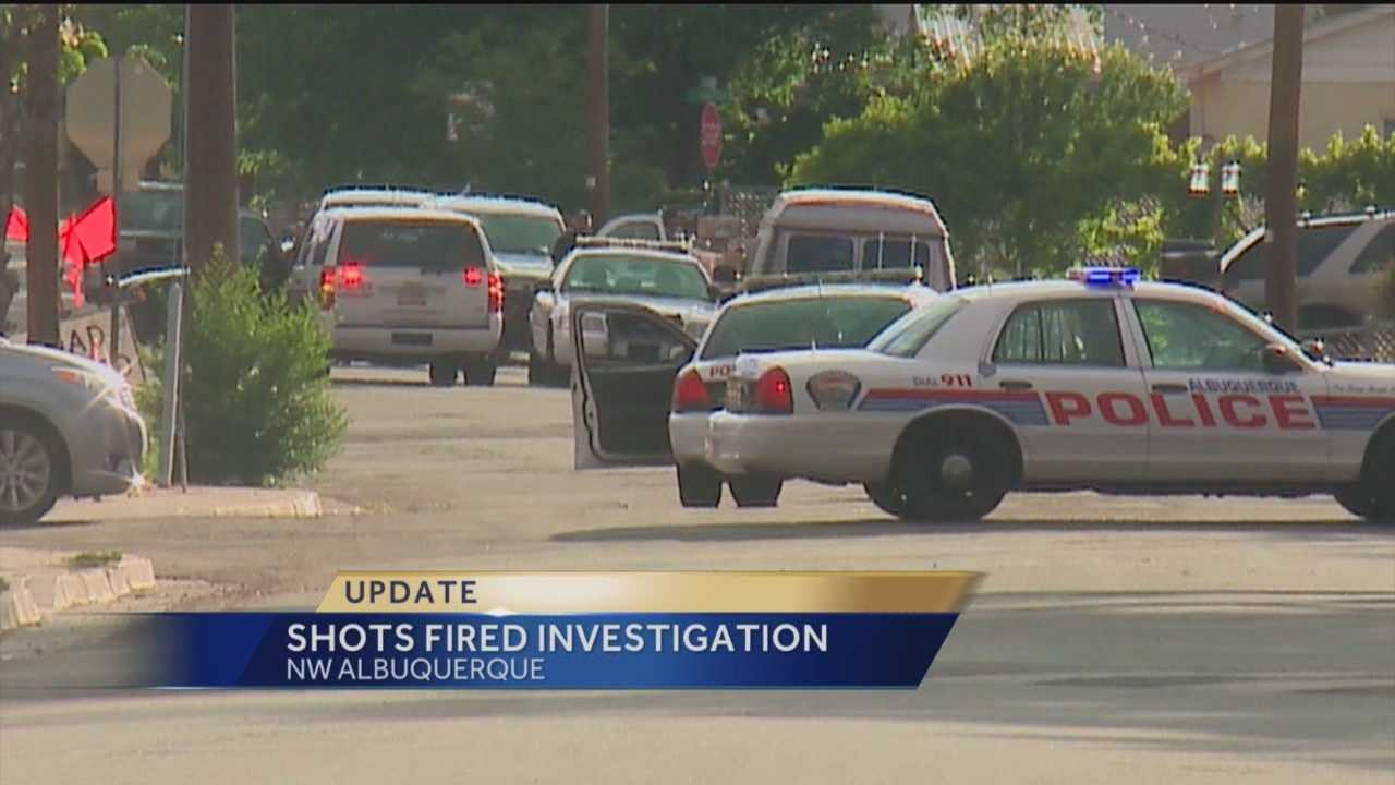 Shots were fired at a northwest Albuquerque apartment complex Monday. Reporter Sandra Ramirez has the story.
