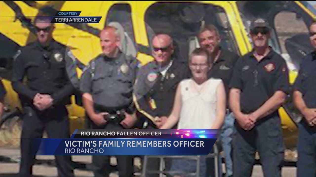 It was said over and over again Tuesday, how Officer Gregg Benner touched people's lives.