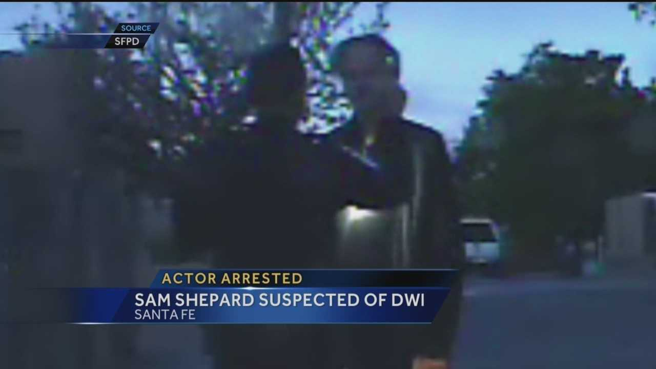 Reporter Aaron Hilf has the dashcam video of a high-profile DWI arrest this week in Santa Fe.