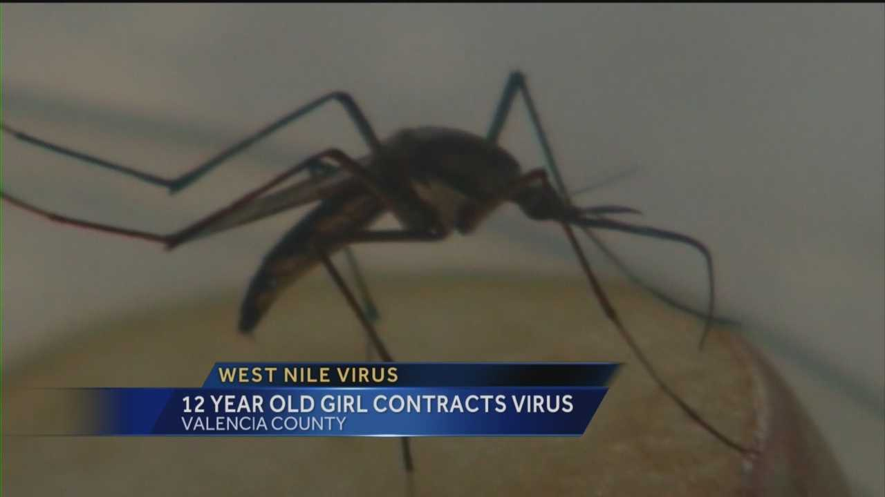 A 12-year-old Valencia County girl is recovering after contracting West Nile virus.