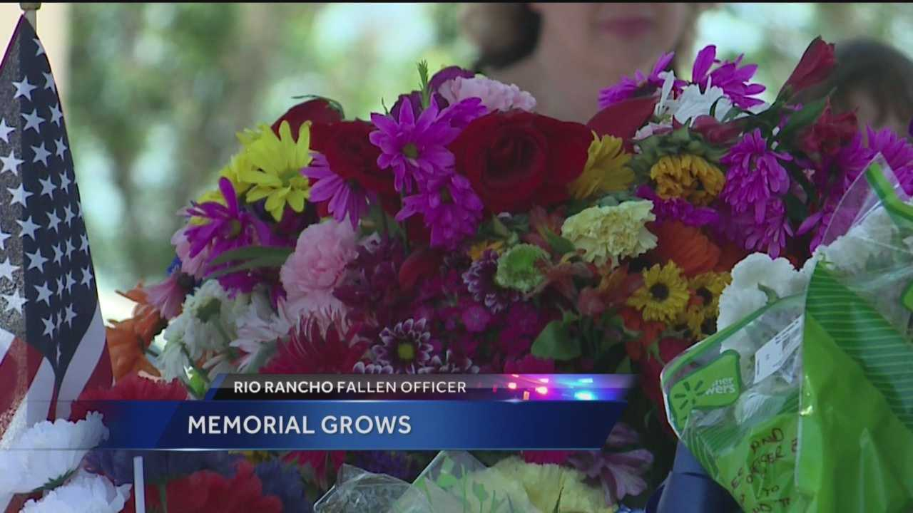 The memorial for Officer Benner just keeps getting bigger and bigger.