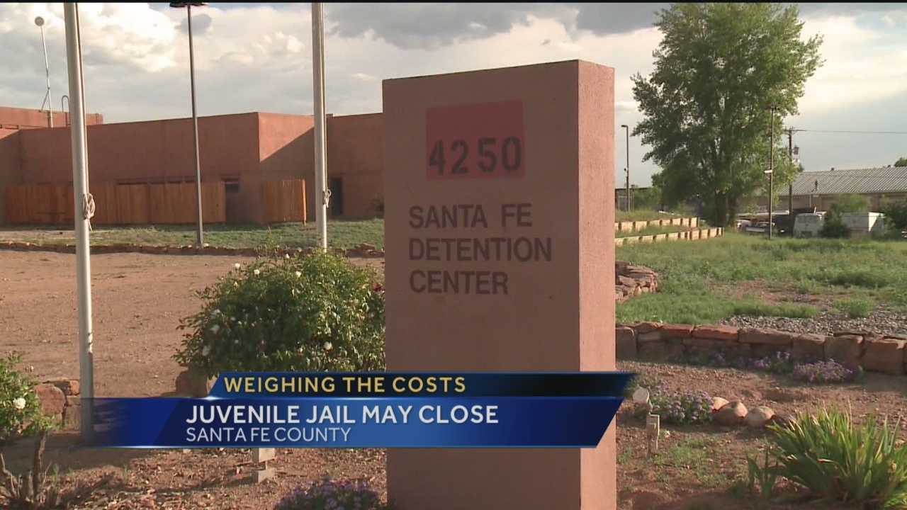 Santa Fe County's Juvenile Detention Center costs millions of dollars a year bu it has very few inmates.