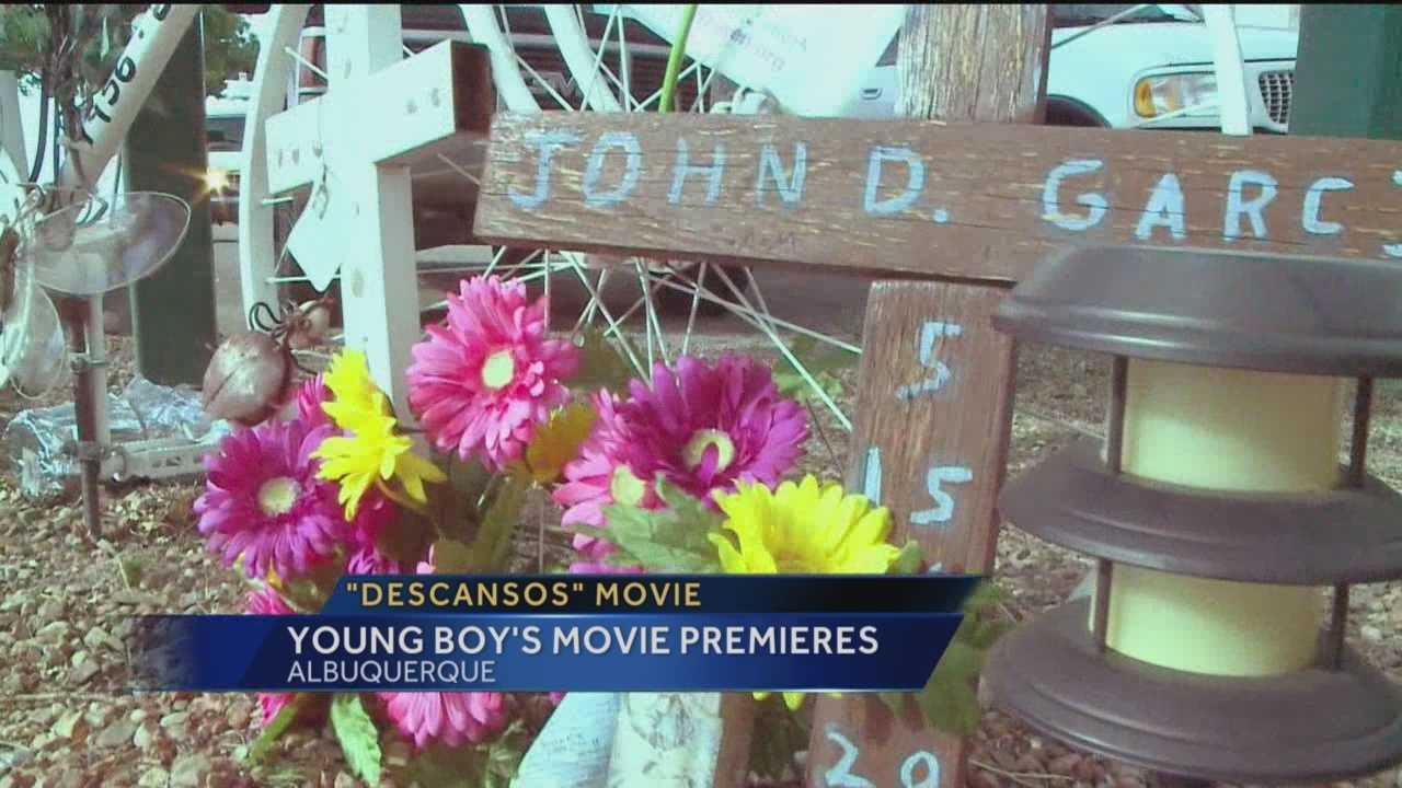 "The movie ""Descansos"" premiered at the South Broadway Cultural Center during the Albuquerque Film and Music Experience Monday evening."