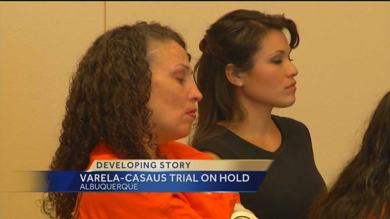 Months before she's set to stand trial for the death of her son, the case against Synthia Varela-Casaus has been put on hold.