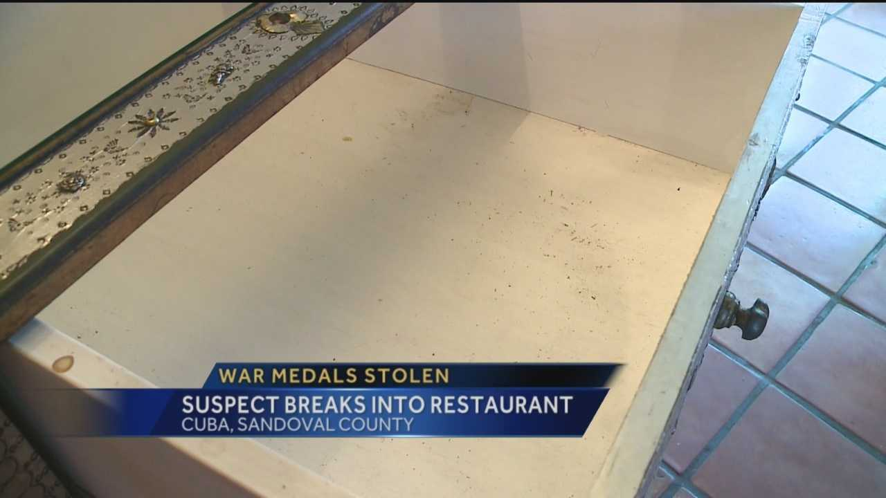 The owner of a popular small town restaurant is beside herself tonight after someone broke in and stole everything.