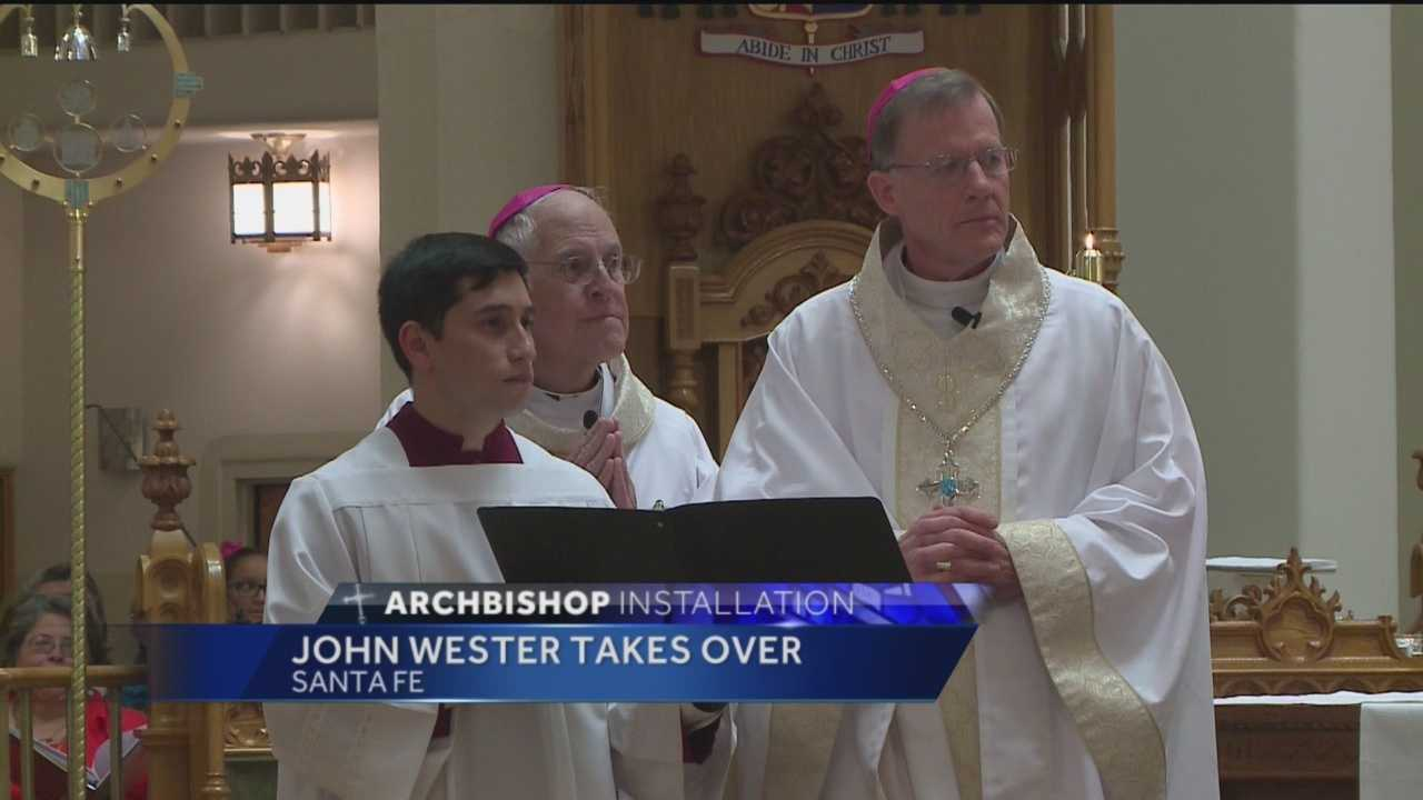 On Thursday, John Wester became the 12th archbishop of the Santa Fe Archdiocese.