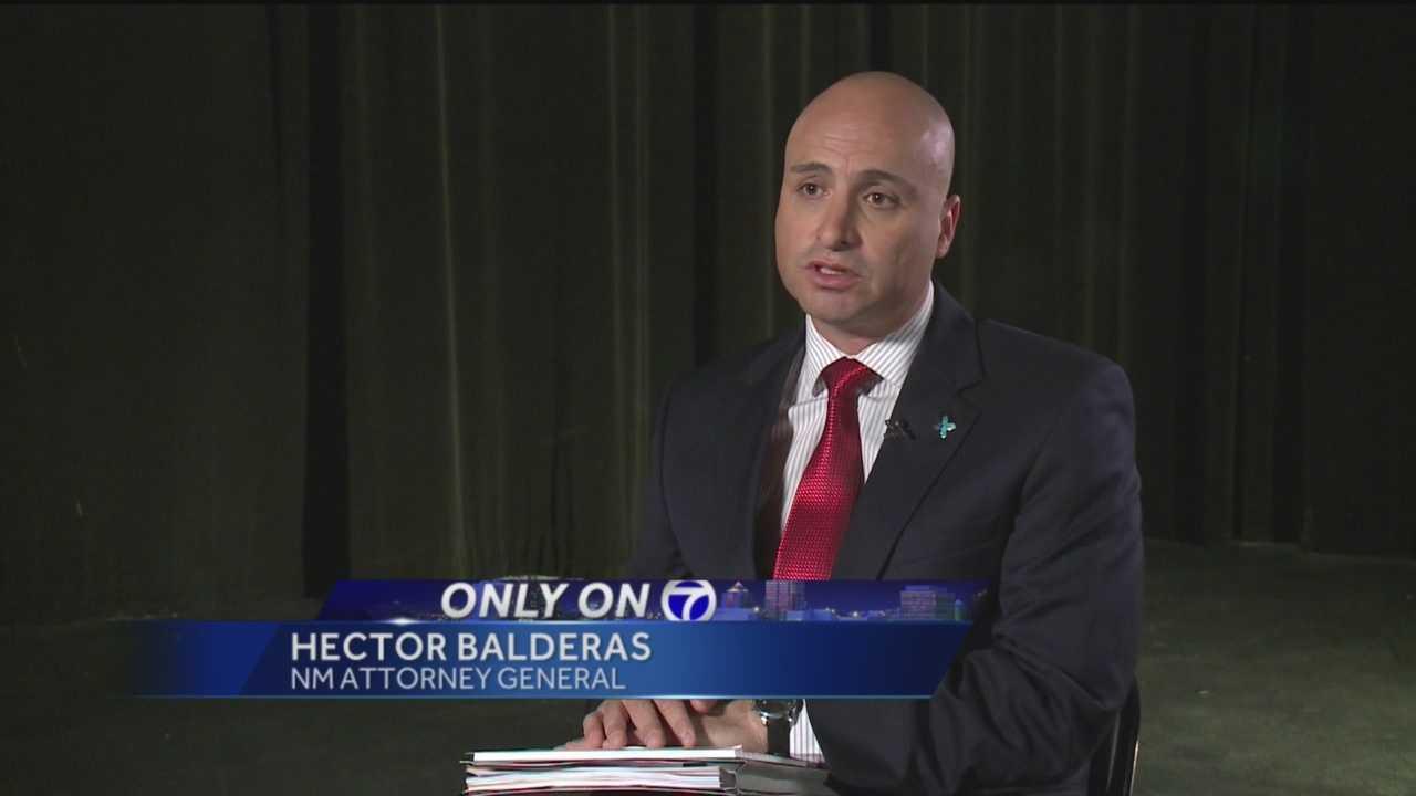 Hector Balderas is pushing for Unprecedented change.