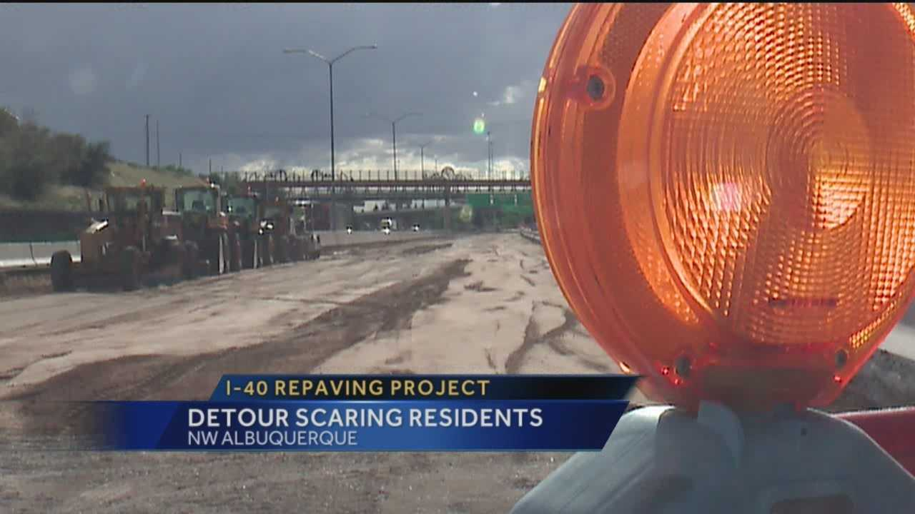 A major road project is just causing headaches for drivers.