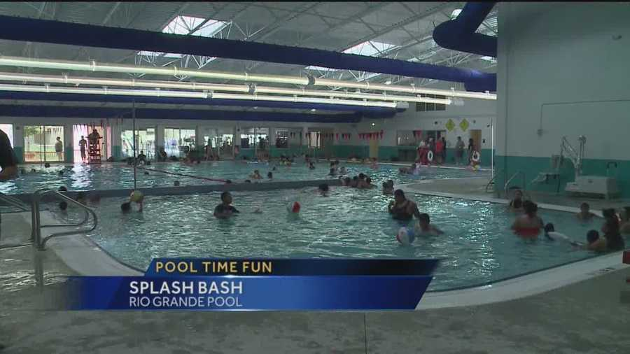 Abq Pool 39 S Renovations Include New Water Slide