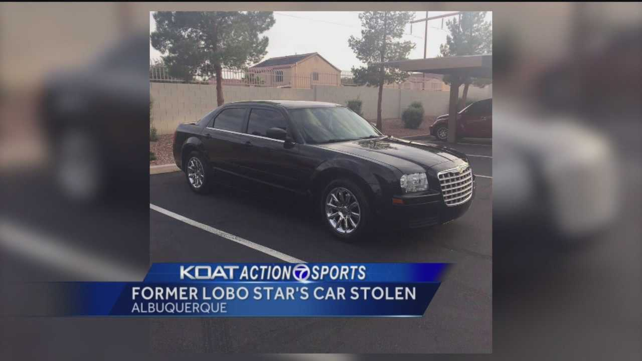 Former New Mexico Lobos basketball star Hugh Greenwood tweeted Monday that someone stole his car.