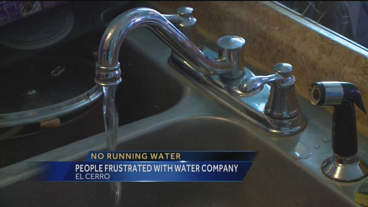 Some Valencia County residents say their water faucets suddenly run dry on weekends, but they're not sure why.