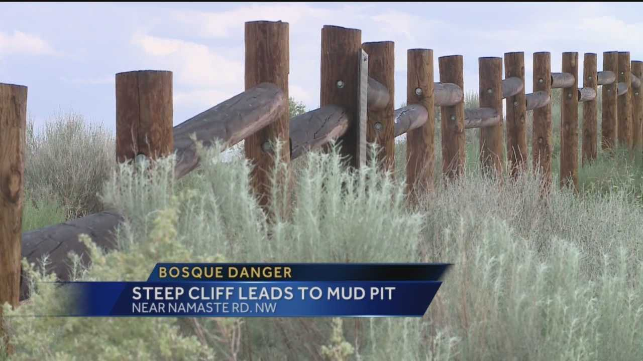 An area couple says they recently escaped serious danger on a walking trail in northwest Albuquerque, an area the city may look to secure its fencing.