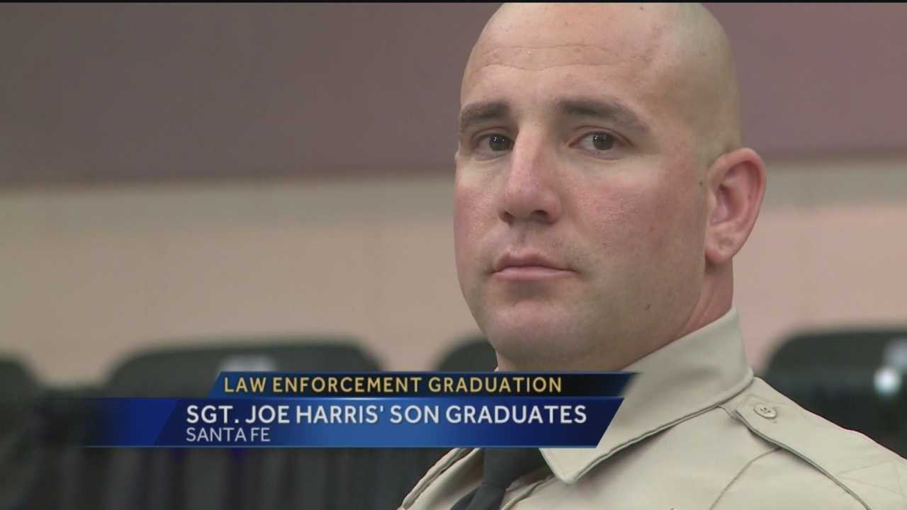 A family tradition continues in Sandoval County as the late Stg. Joe Harris' son graduates as a deputy.