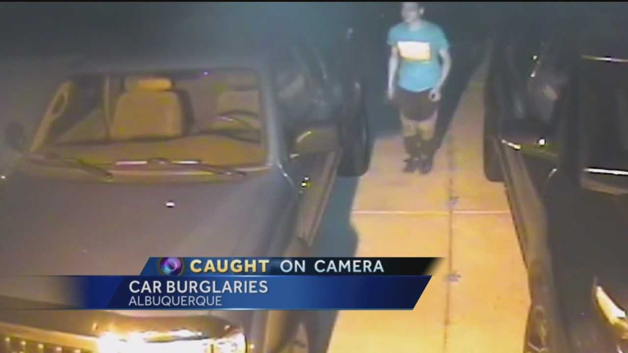 Residents in the Northeast Heights are fed up with the amount of car burglaries taking place.