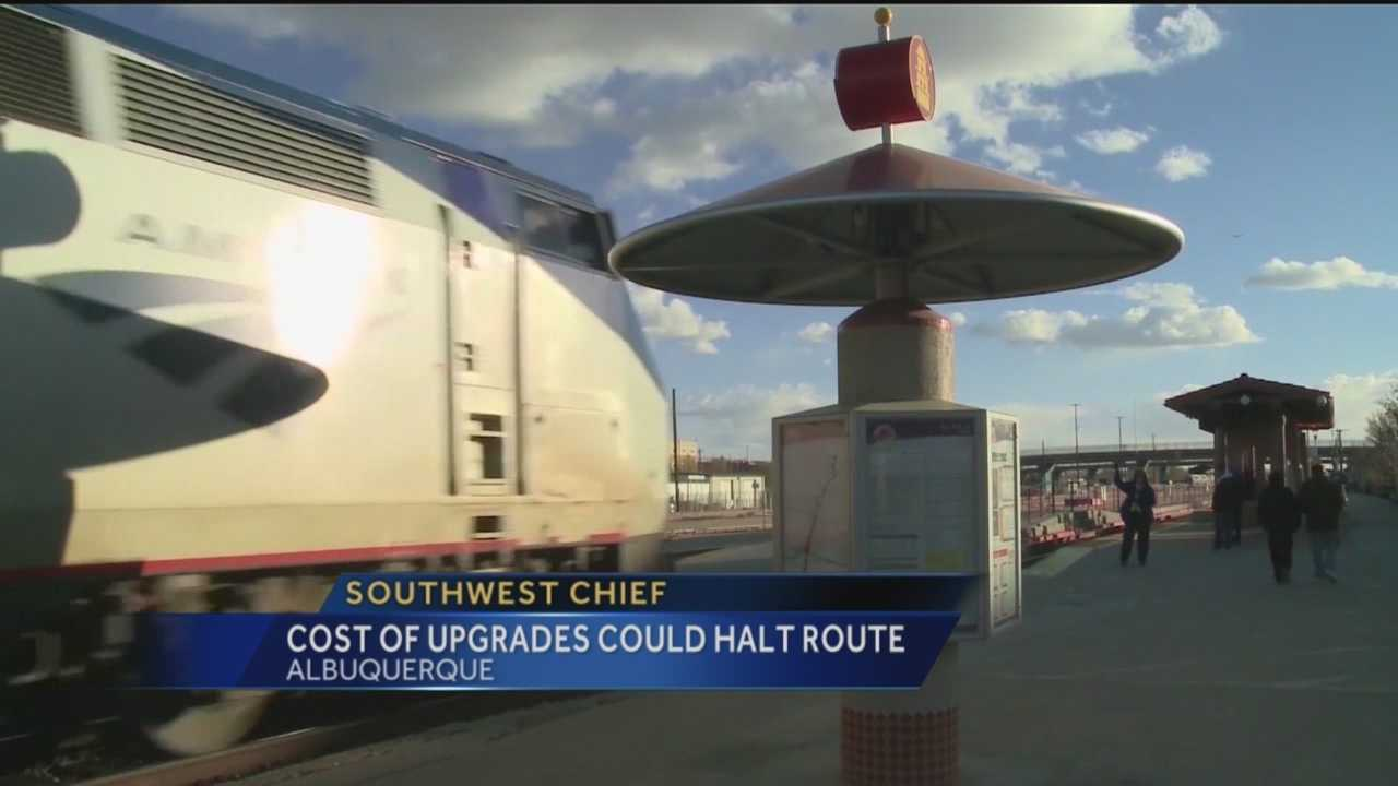 Amtrak's Southwest Chief route travels from Chicago to Los Angeles every day, with several stops along the way, including five in New Mexico.