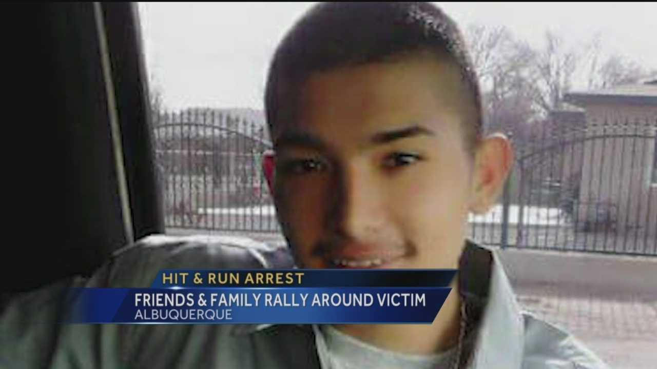 Friends and family of a hit-and-run victim say he did not deserve what happened.