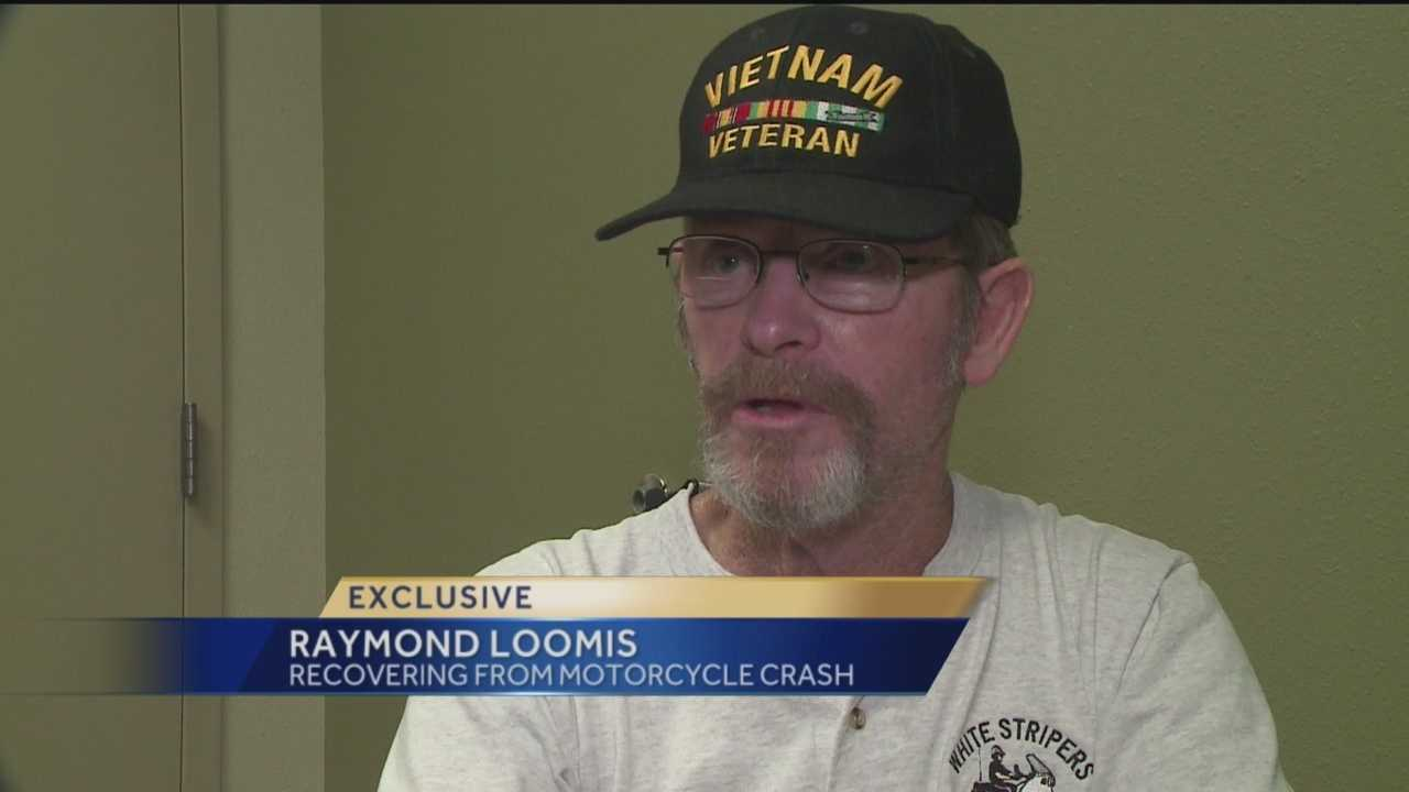 A former police officer opens up about his recovery from a hit and run crash.