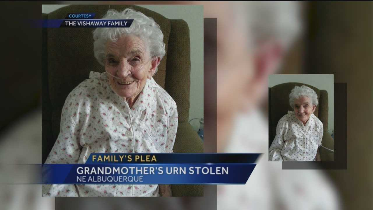 When an Albuquerque family buries their Grandmother tomorrow, it wont be as planned.