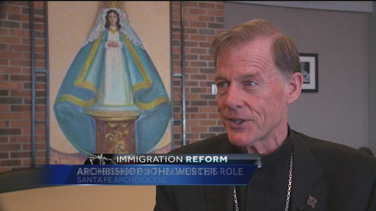 A moral issue and a human issue. That is how Santa Fe Archbishop John Wester describes immigration reform in the United States.