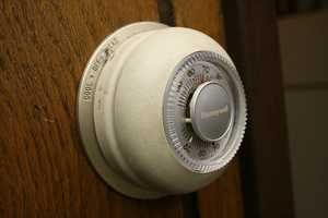 Turn off the air conditioner or raise the thermostat setting when gone for an extended period. Set the thermostat as high as comfort permits. Save two to four percent on electricity for every degree higher the thermostat it set.