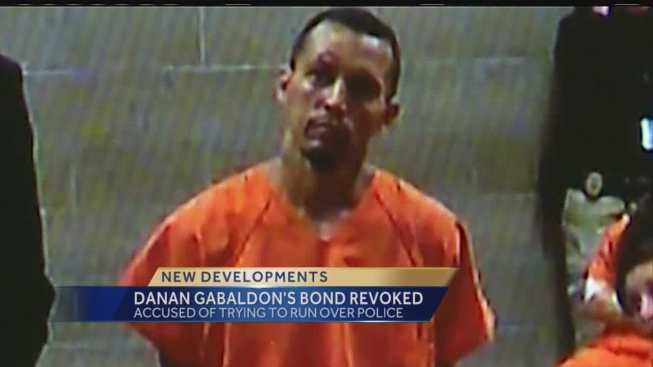 A man accused of attacking police three times in two months has learned he won't be getting out of jail.