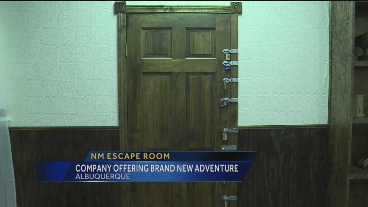 New Mexico's first escape room opened last weekend.