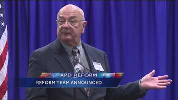 Officials on Tuesday introduced 10 people who are responsible for overseeing the reform of the Albuquerque Police Department.