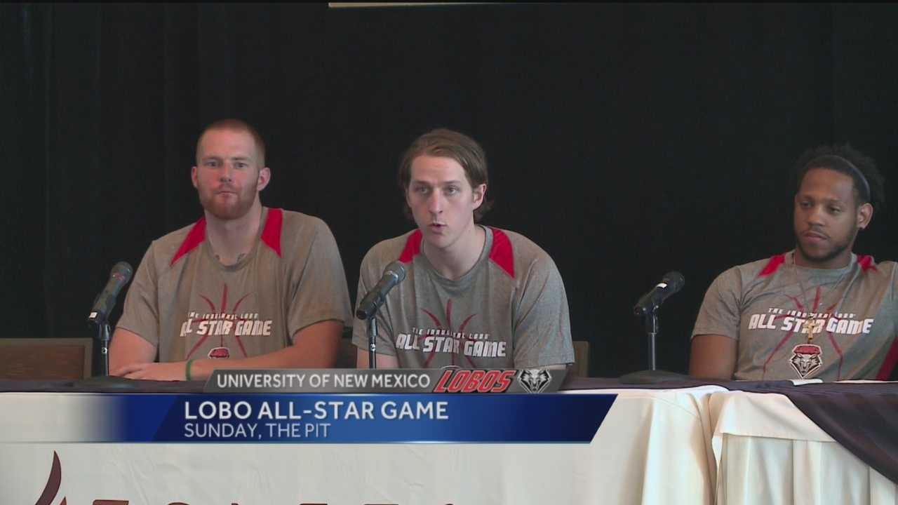 Some of your favorite Lobos are going to be participating in the first-ever Alumni All-Star Game.