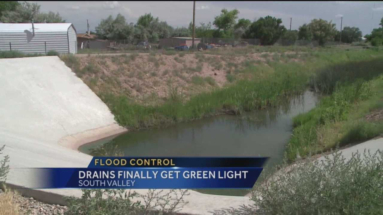 Flooding is a constant threat in the South Valley, but after eleven years of red tape and bureaucracy help is on the way.