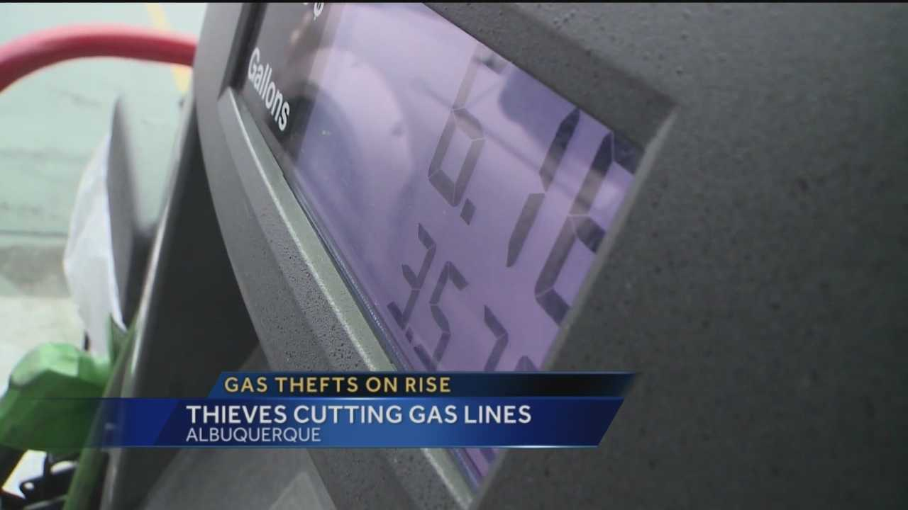 As gas prices inch up, police say they are seeing an increase in reports of gas thefts.