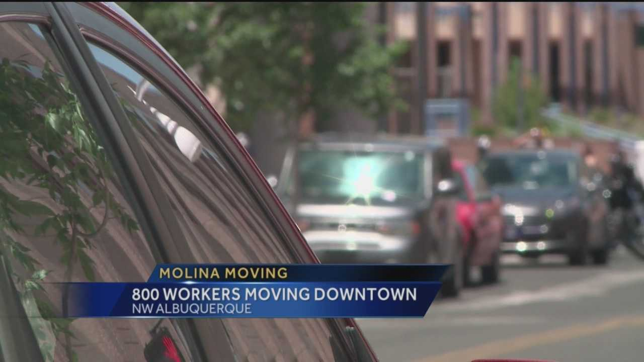 Molina Healthcare has moved 800 of its employees downtown.
