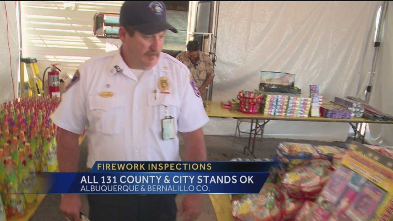 Firework Stand Inspections