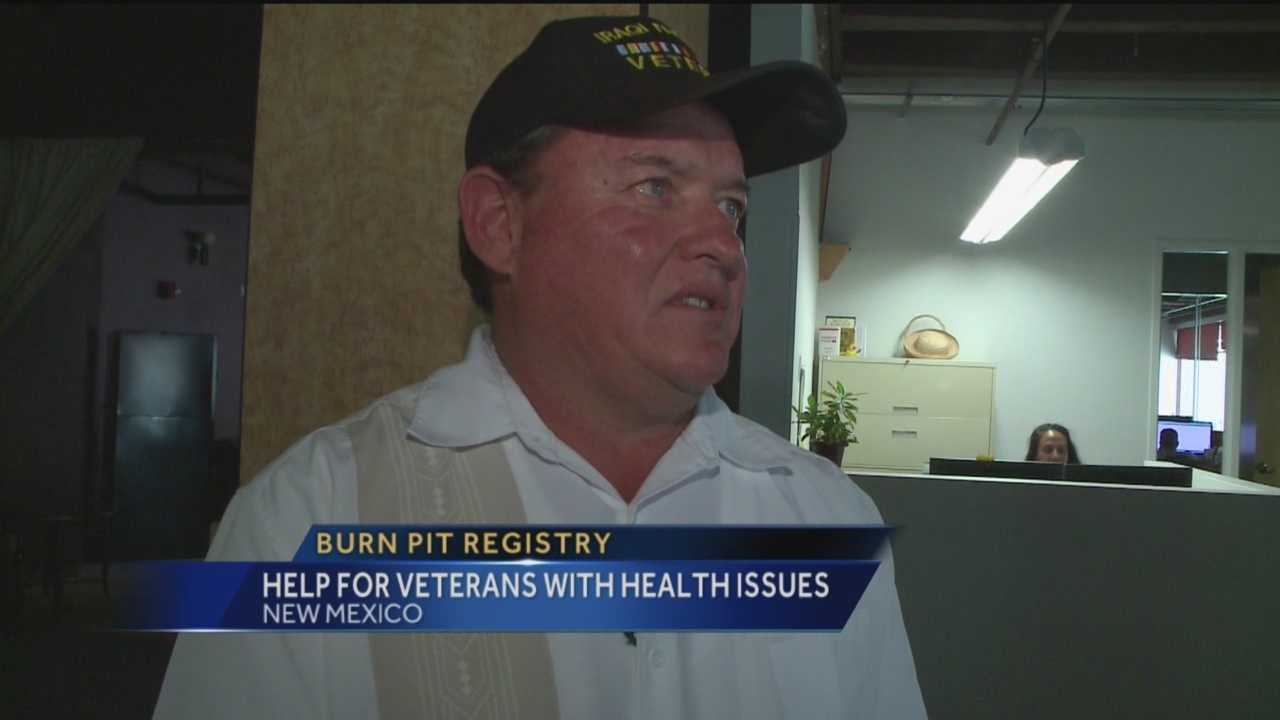 A New Mexico veteran is working to help other vets who may have been harmed by dangerous fumes.