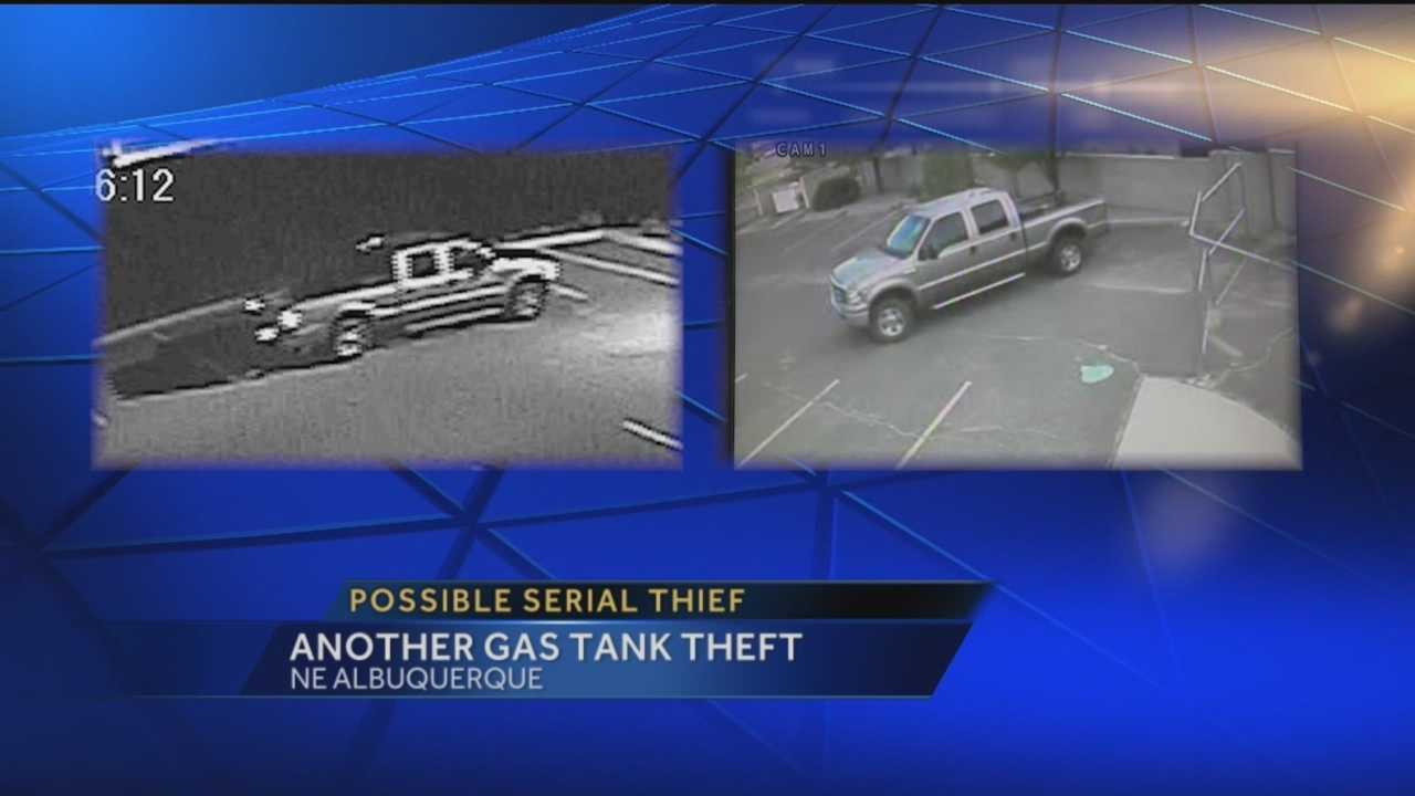 Albuquerque police are trying to figure out if the city has a serial gas thief on its hands.