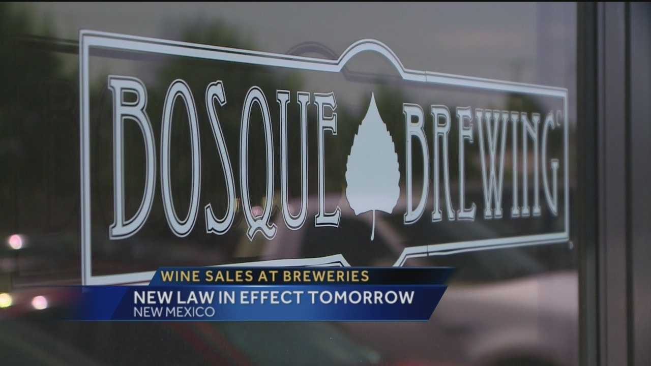Big changes are coming to New Mexico's breweries in just a couple of hours.