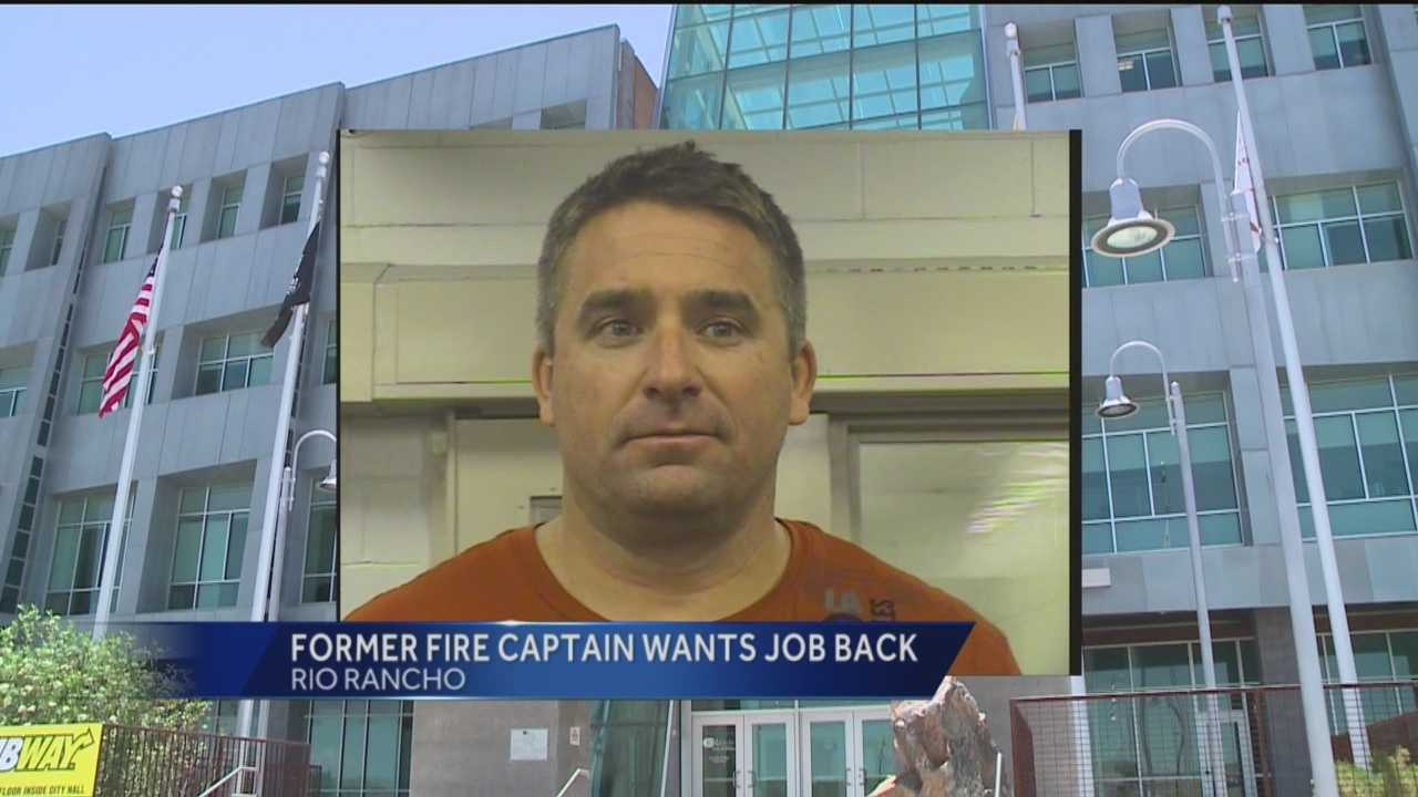A former Rio Rancho fire captain is trying to get his job back again.