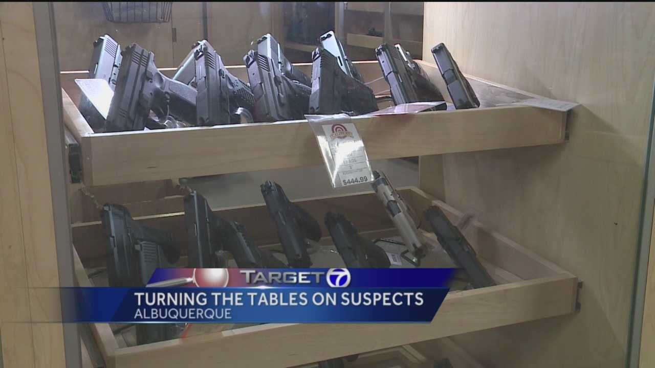 More people in Albuquerque are using guns to protect themselves.