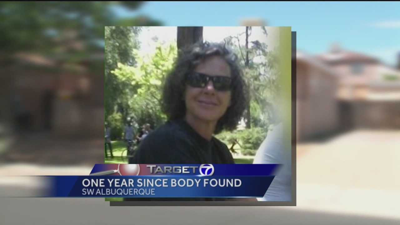 It's been a year since a woman was found dead, naked and bound with duct tape in her Albuquerque home.