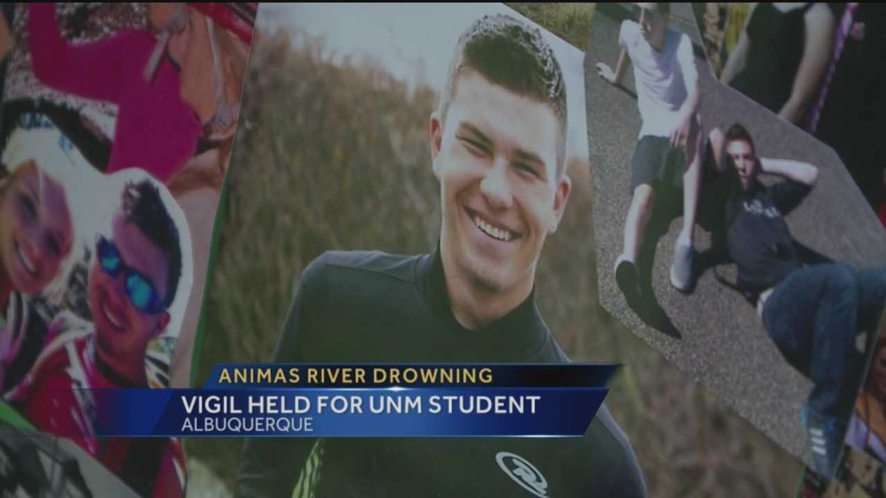 Hundreds of people were at Paradise Hills Park Monday night to honor a 19-year-old who was swept away when he got into the Animas River over a week ago.