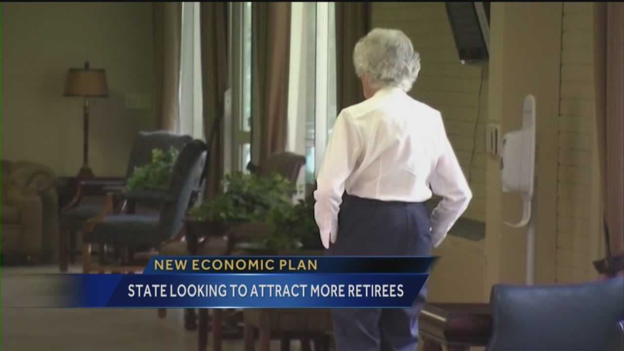 New Mexico could soon be looking to woo retirees in an effort to boost the state's sluggish economy.