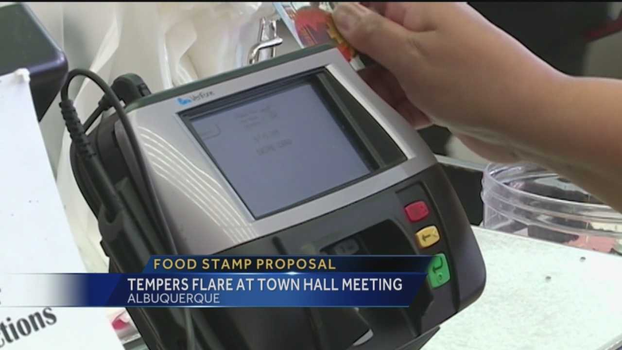 A lot of people are preparing to fight the state, over food stamps.