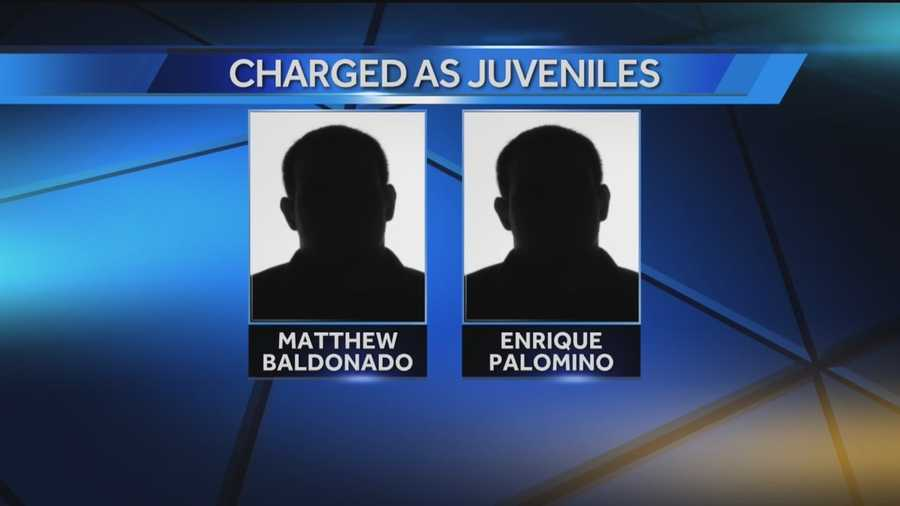 Photos ofEnrique Palomino, 14, and Matthew Baldonado, 14, are not available at this time.