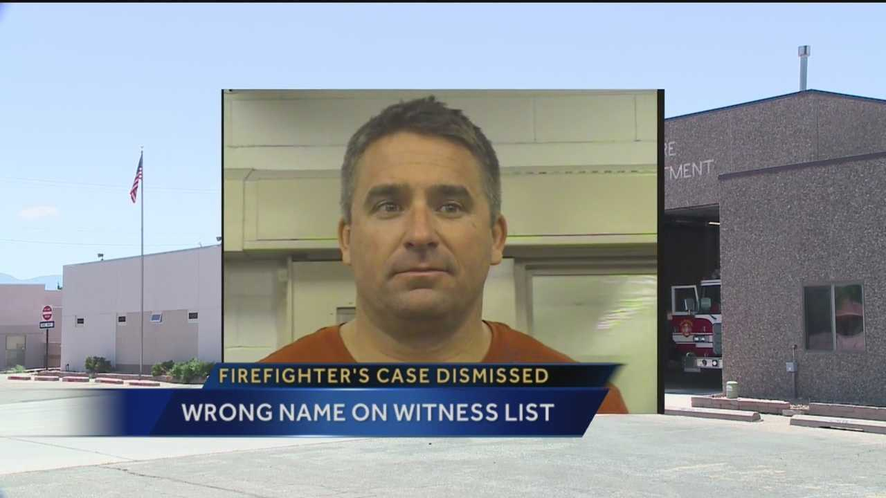 A paperwork mistake is to blame for the dismissal of DWI charges against former Rio Rancho Fire Capt. Derek Arana.