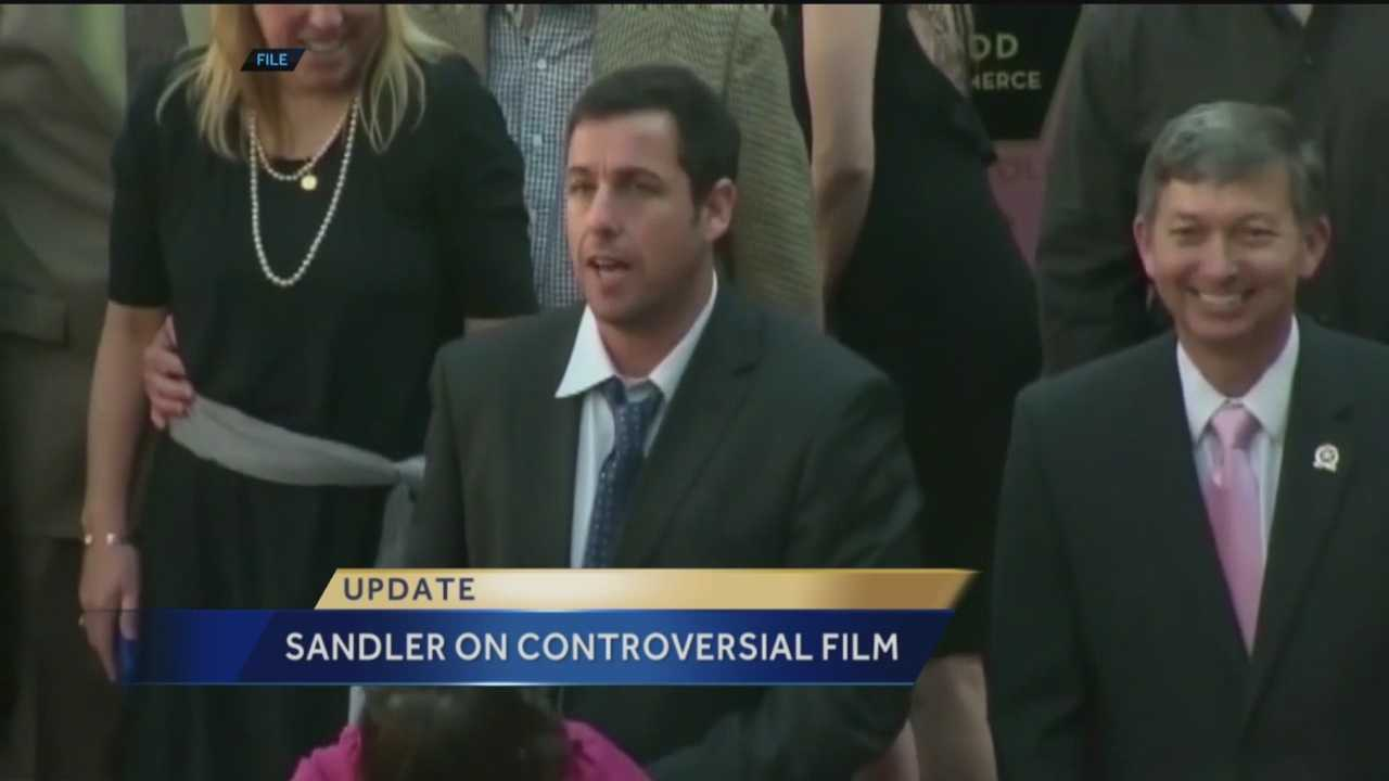 A big name in Hollywood is talking about a controversy over one of his films that was shot in New Mexico.