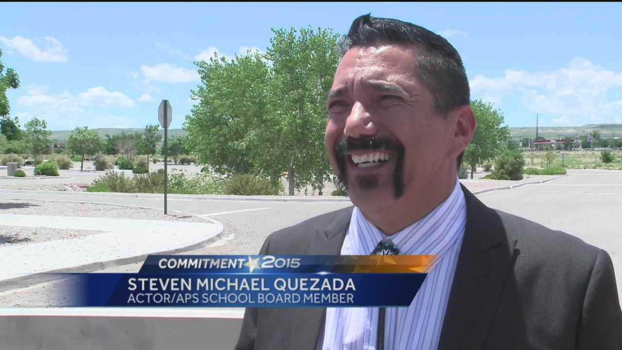 """Breaking Bad"" actor Steven Michael Quezada played a DEA agent in the hit show, and now he's auditioning to be a Bernalillo County commissioner."
