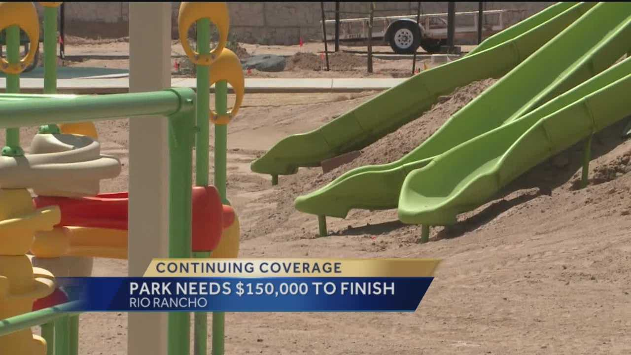 A multi-million dollar park has taken 6 years to complete, and it's still not done.